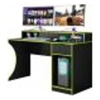 Mesa Computador Pc Gamer Tuf Craft B03 Preto/Verde - Mpozenato
