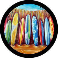 Capa Para Estepe Ecosport Fox + Cabo + Cadeado Prancha Surf