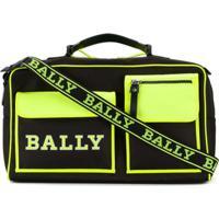 Bally Mala Com Recortes Neon - Preto