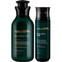 Combo Nativa Spa Baunilha Real: Loção Hidratante 400Ml + Body Splash 200Ml