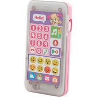 Telefone Emojis - Primeiras Palavras - Aprender E Brincar - Irmãzinha - Fisher-Price - Feminino-Incolor