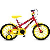 Bicicleta Infantil Colli Mtb Hot Aro 16 Vermelho Masculino - 102.16D - Masculino