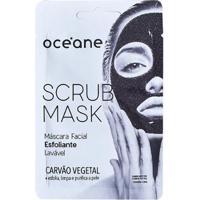 Máscara Esfoliante Facial Océane - Scrub Mask - Unissex-Incolor