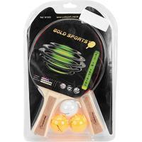 Netshoes  Kit Para Tenis De Mesa Gold Sports - Training Com 2 Raquetes 3  Bolas - Unissex ada38489d455c