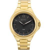 Relógio Feminino Euro Eu2039Jc/4P Pulseira Aço Dourada - Feminino