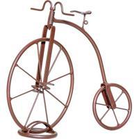 Bicicleta Decorativa Novel Marrom