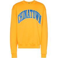 Chinatown Market Moletom X Browns Com Logo - Amarelo