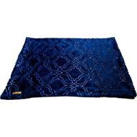 Cobertor Retangular- Azul Marinho- 60X90Cm- 4 Pa4 Patas
