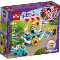 Lego Friends - Carrinho De Sorvetes - Stephanie - 41389