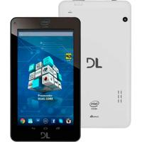 Tablet Dl Xpro Tp266Bra 8Gb Tela 7 Android 4.4 Wi-Fi Intel Dual-Core Duas Cã¢Meras