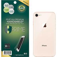 Película Protetora Traseira Nanoshield Hprime Para Apple Iphone X Transparente