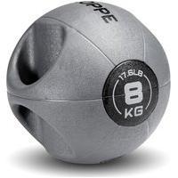 Medicine Ball Gripped Bv 8Kg Cinza E Preto Roppe