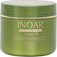 Inoar Argan Oil - Máscara - 500G - Unissex-Incolor