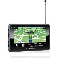 "Gps Multilaser Tracker 3 Tela 4.3"" Touch Com Fm E Tv Digital - Gp034"