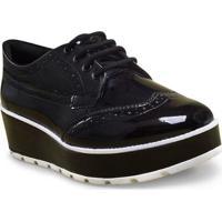 Sapato Fem Ramarim 17-89101 Preto