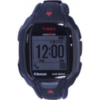 Monitor Cardíaco Com Gps Timex X50+ Tw5K84 - Preto/Vermelho