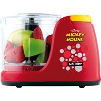 Mini Processador Disney Mickey Mouse Mallory Capacidade 350Ml, Pés. - 220 V