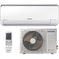 Ar Condicionado Split Inverter Samsung Digital 8Polos Quente Frio High Wall 12.000 Btus Ar12Msspbgmnaz 220V