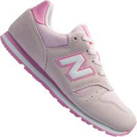 Tênis New Balance K373 Td Feminino - Infantil - Rosa Claro