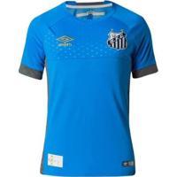 Camisa Umbro Goleiro Santos Oficial 2018 Masculina - Masculino