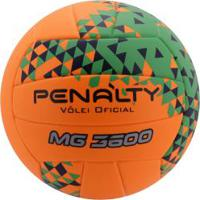 Bola De Vôlei Penalty Mg 3600 Ultra Fusion Viii - Laranja/Verde