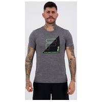 Camiseta Fila Bold Print Cinza