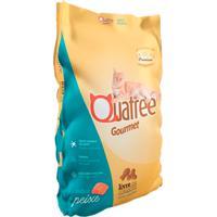 Ração Para Gatos Adultos Quatree Gourmet Sabor Peixe 3Kg