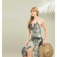 Vestido Mídi Com Cinto Nautilus - Lez A Lez