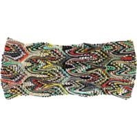 Missoni Headband De Tricô - Preto