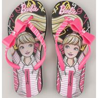 Chinelo Infantil Ipanema Barbie Rosa