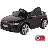 Carrinho Infantil Elétrico Audi Tt Rs 12V Com Controle Remoto Belfix Preto - Kanui
