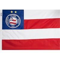 b7a537541af43 Bandeira Licenciados Futebol Bahia 4 Panos (256X180) Azul Branca Vermelha