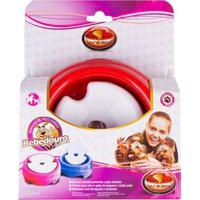 Bebedouro Pelos Longos Para Cachorro E Gato Furacão Pet Vermelho - 1 Litro