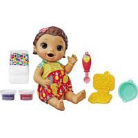Boneca Baby Alive - Lanchinhos Divertidos - Morena - Hasbro