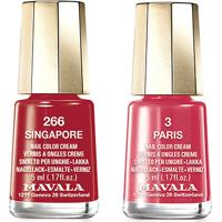 Kit Mavala Mini Esmalte Color Paris 5Ml + Mini Esmalte Color Singapore 5Ml - Feminino-Incolor