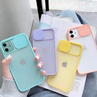 Capa De Proteção Para Câmera Iphone Modelo 6, 7, 8, 9, 11, X, Xs, Se 2020 E Mais - Amarelo Iphone 7 Plus