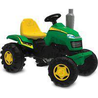 Carrinho De Passeio - Trator Country - Verde E Amarelo - Bandeirante Band908