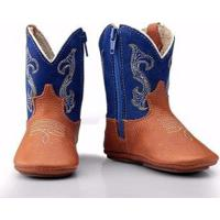 Bota Texana Country Baby Capelli Boots Infantil - Masculino-Azul