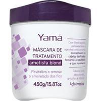 Yamá Ametista Blond - Máscara Hidratante 450G - Unissex-Incolor