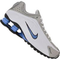 Tênis Nike Shox R4 - Masculino - Branco/Cinza