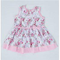 Vestido Infantil Martina Floral Rosa