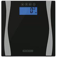 Balança Eletrônica Black & Decker Com Bioimpedância E Capacidade De 180 Kg - Bk60-Br