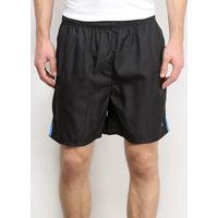 Shorts Gajang Fitness Masculino - Masculino-Preto