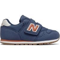 Tênis Infantil New Balance 373 Masculino - Masculino-Azul