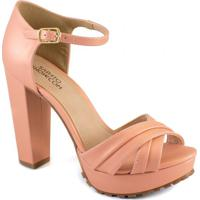 Sandália Tiras Numeração Especial Sapato Show 1120543