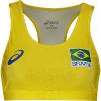 Top Vôlei Praia Asics Cbv Brasil - Feminino