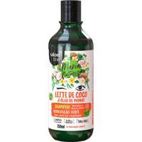 Shampoo Salon Line Maria Natureza Leite De Coco E Óleo De Monoi 350Ml