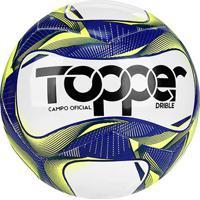 Bola De Futebol Campo Topper Drible Tecnofusion - Unissex
