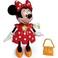 Boneca Minnie - Conta Histórias - Elka - Disney - Feminino-Incolor