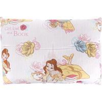 Travesseiro Santista Branco/Rosa